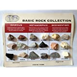 Scott Resources Investigating Minerals and Rocks Chart 18 x 24 Size