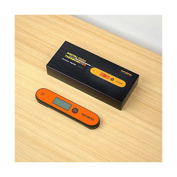 Inkbird IHT-1P Termometro Cucina Digitale Ultrarapido Professionale 3s Termometro a Termocoppia a Lettura Istantanea per… 2