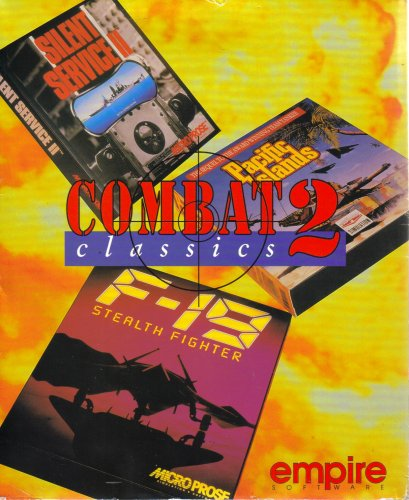 Combat 2 Classics: F-19 Stealth Fighter / Pacific Islands / Silent Service II [ 3 Games on 3.5