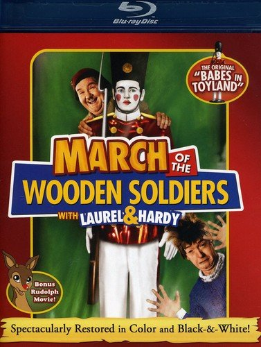Christmas Peppermint Express - March of the Wooden Soldiers [Blu-ray]