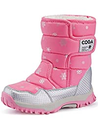 DADAWEN Kid's Boy's Girl's Frosty Winter Boot (Toddler/Little Kid/Big Kid)