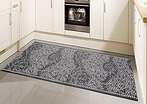 Teppich Modern Flachgewebe Gel Läufer Küchenteppich Küchenläufer ...