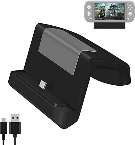 Shumeifang Switch Dock, Base de Carga Mini Portátil para Nintendo ...