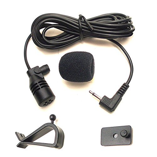 Enabled Bluetooth Stereo (Mepark Mic 3.5mm External Microphone Assembly For Car Vehicle Head Unit Bluetooth Enabled Audio Stereo Radio GPS DVD with 3m Cable Plug and Play)
