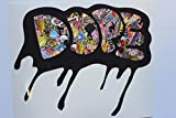 Customize Right 121 Dope StickerBomb JDM Bumper Sticker
