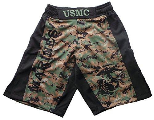 (USMC MARPAT Digi Cam Fight Shorts (38, MARPAT))
