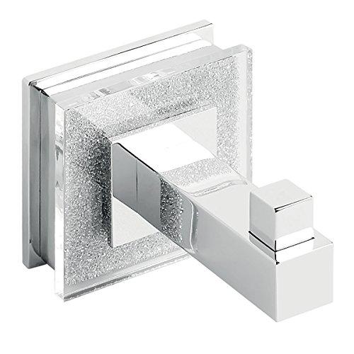 Ruvati RVA5003 Valencia Luxury Bathroom Accessory Robe Hook, Crystal and Chrome by Ruvati