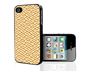Pretty Orange Preppy Pattern Hard Snap on Phone Case (iPhone 5/5s)