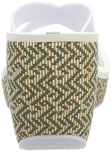 Ipanema Lipstick Straps IV Fem, Sandalias con Plataforma Para Mujer Multicolor (White)