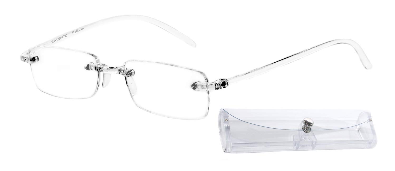 Transparente +1.75D Rainbow safety Gafas de Lectura de Presbicia Mujer Hombre Revestimiento Antirreflectante Helium