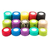 Self Adhesive Bandage, Iaimee Self Adherent Cohesive Wrap Bandages Rolls