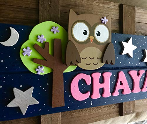 ersonalized Kids Door Sign; Custom Name Plate ()
