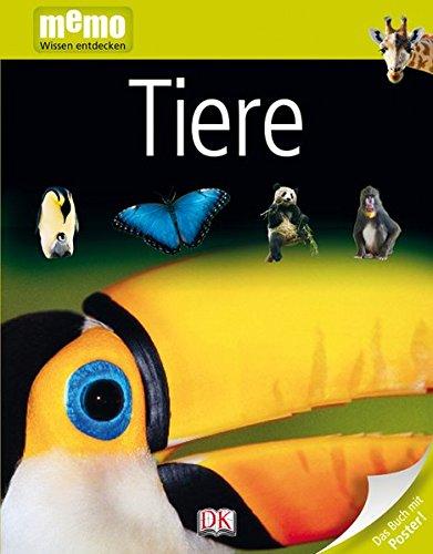 memo Wissen entdecken. Tiere: Das Buch mit Poster!