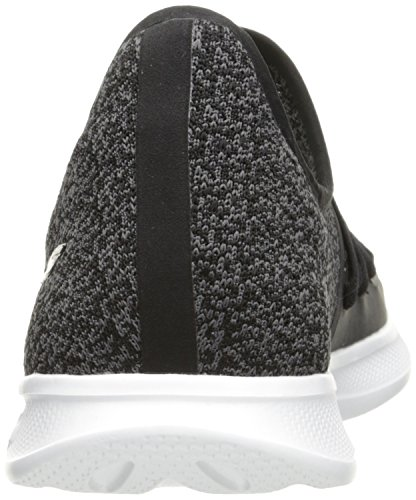 Lite Entrenadores para Go Negro Redefine Skechers Black White Step Mujer p1wxfnqE7