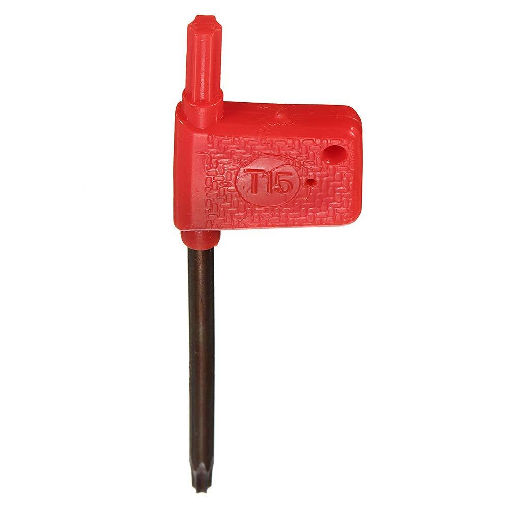 Festnight 10 piezas de carburo fresado indexable insertos APMT1604 PDER DP5320 25R0.8 herramienta llave