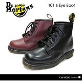 【Dr.Martens ドクターマーチン】6ホールブーツ 101 6EYE BOOT 専用BOX付き (10064001/10064600) チェリーレッド UK7