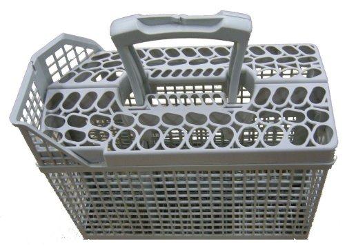 Price comparison product image Genuine AEG Dishwasher Dark Grey Cutlery Basket 1118401502