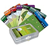 Fitdeck Exercise Playing Cards for Guided Sports Workouts, Golf