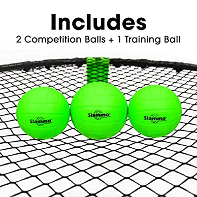 GoSports Slammo Game Set (Includes 3 Balls, Carrying Case and Rules): Sports & Outdoors
