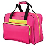 Janome Hot Pink Universal Sewing Machine Tote, Canvas