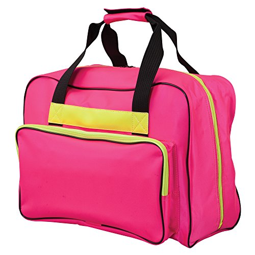 Janome Hot Pink Universal Sewing Machine Tote, Canvas by Janome