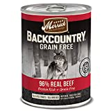 Merrick Backcountry Grain Free 96% – Real Beef Wet Dog Food, Case of 12, 12.7 oz. Review
