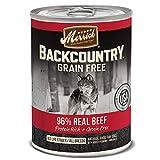 Merrick Backcountry Grain Free 96% - Real Beef Wet...