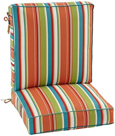 BrylaneHome 2-Section Deep Seating Cushion - a good cheap outdoor chair cushion