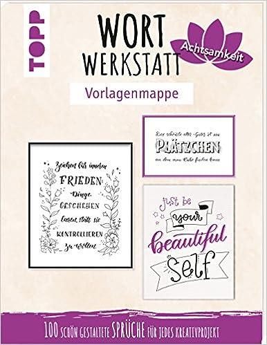 Wortwerkstatt Vorlagenmappe Achtsamkeit 100 Schön
