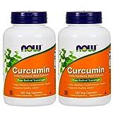 Curcumin 120 VegiCaps (Pack of 2)