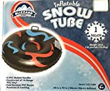 Blizzard King Inflatable Snow Tube Geometric Red/Blue