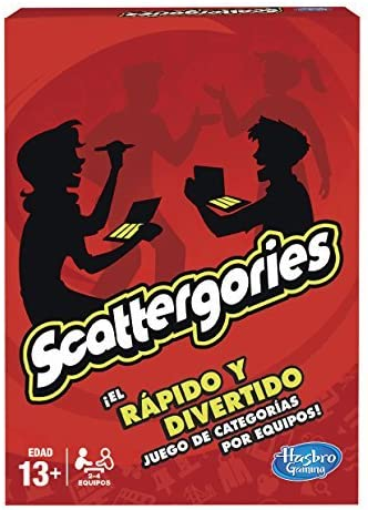 Games - Scattergories (Hasbro A5226105)