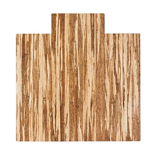 - Anji Mountain Amb24064 Strand-Woven Wood Roll-Up Chairman with lip, 55 x 57