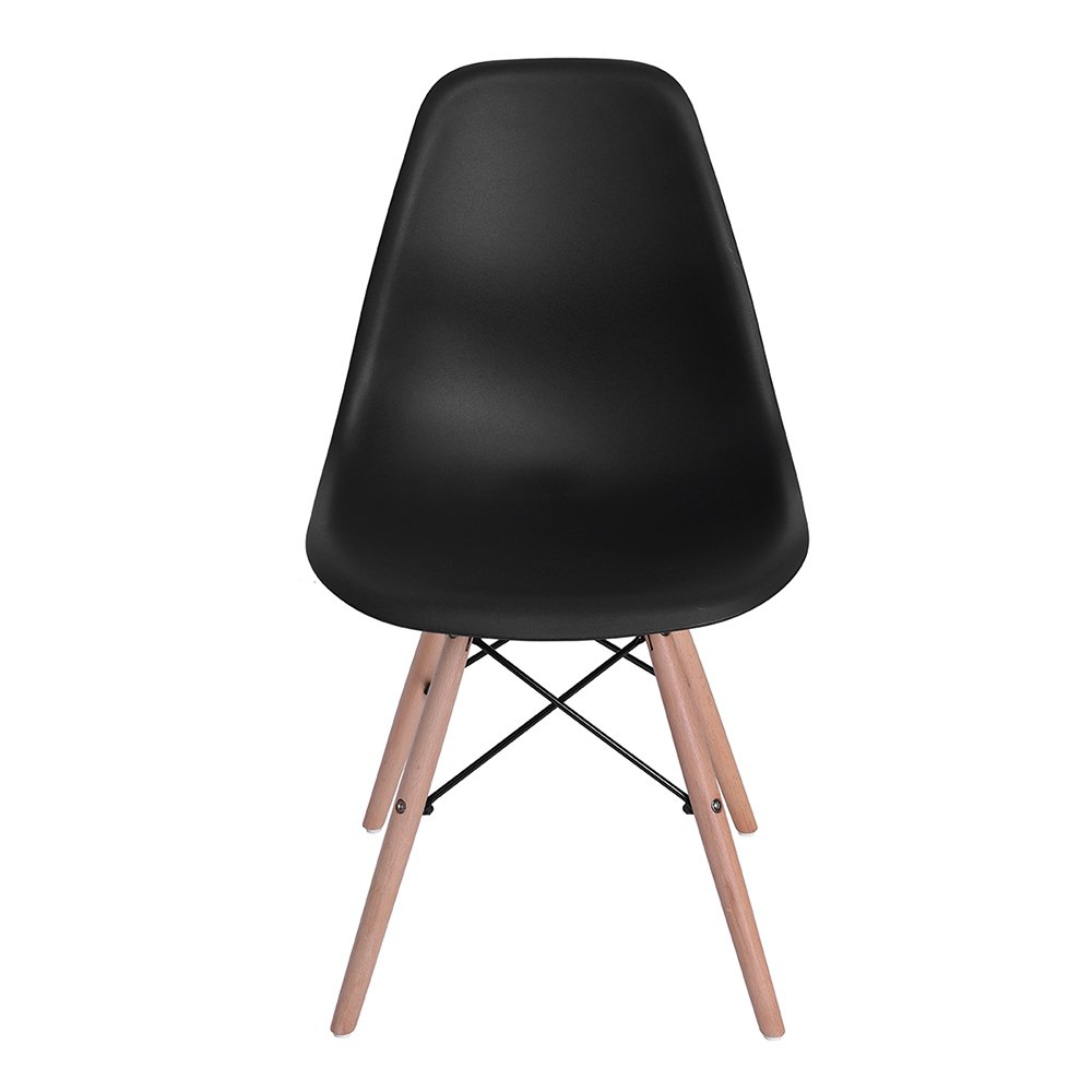 4er schwarz wohnzimmerstuhl esszimmerstuhl b rostuhl. Black Bedroom Furniture Sets. Home Design Ideas