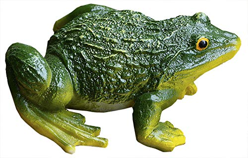 Funnuf Sitting Frog Garden Statue Figurine Toad Sculpture Decoration Model