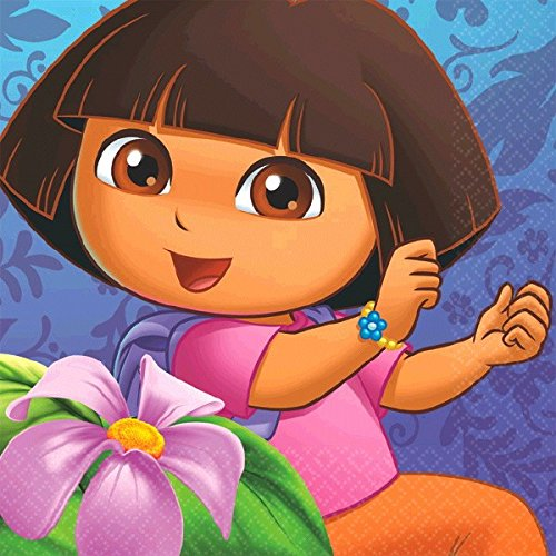 Dora the Explorer Beverage Napkins 16 Ct.]()