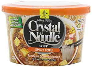 Crystal Noodle Soup, Spicy Tofu, 2.4 Ounce (Pack of 6)