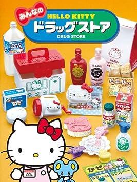 Amazon.es: Caja sorpresa con miniaturas Re-ment de Hello Kitty farmacia: Juguetes y juegos
