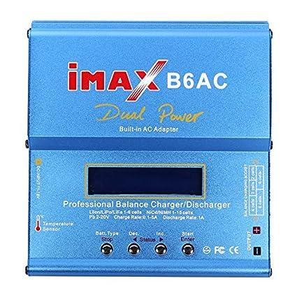 Bluelover Imax B6 B6Ac 80W Del Cargador Del Balance Del ...