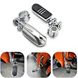 KEMIMOTO Highway Pegs Foot Rest for Honda Suzuki Yamaha Kawasaki Sportster Road King Street Glide Dyna