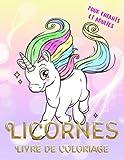 licornes livre de coloriage pour enfants et adultes coloriage magique coloriage licorne volume 1 french edition