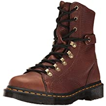 Dr.Martens Womens Coraline Aunt Sally Leather Boots