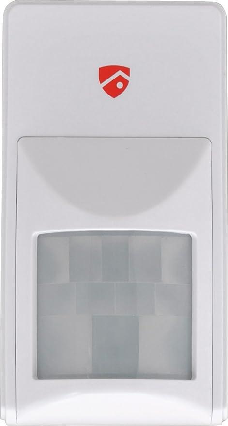 Red ShieldWS-103 Detector-Movimiento Inalámbrico Interior para de Alarma Inalámbrico WS-100
