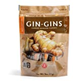 The Ginger People Gin Gins Hot Chewy Ginger Candy 3oz 6 pack