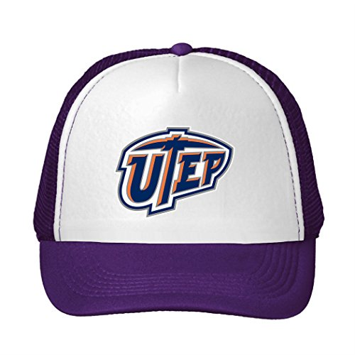 Adjustable UTEP Miners NCAA Logo Mesh Back Trucker Cap Pruple (Ncaa Embroidery Designs compare prices)