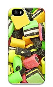 iPhone 5 5S Case Colorful bonbons 3D Custom iPhone 5 5S Case Cover hjbrhga1544