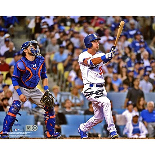 Cody Bellinger Los Angeles Dodgers FAN Autographed Signed 8x10 Hitting Home Run Photograph - Certified Signature ()