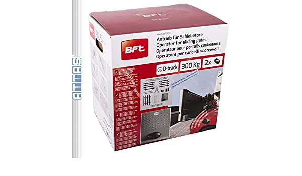 Accionamiento De Puertas Correderas (BFT IANUS BT 300-KIT): Amazon.es: Bricolaje y herramientas