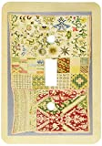 3dRose lsp_204594_1 Print Of Vintage Mexican Sampler Quilt - Single Toggle Switch