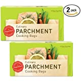 (2 Pack) Parchment Paper Nonstick Cooking Bags, 10-ct/Box